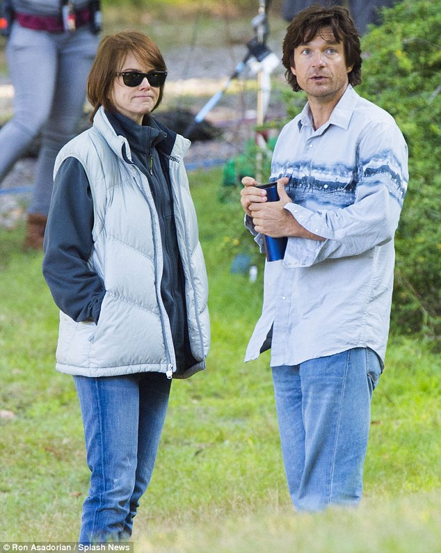 In between takes: The film is based on an Australian novel and follows Annie and Buster Fang who return to their family home in search of their missing parents
