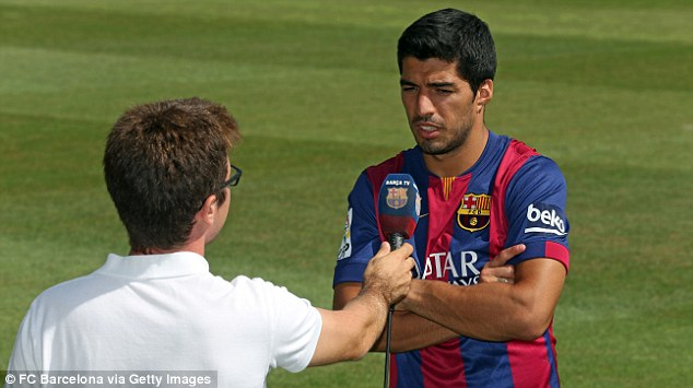 Class; Suarez will bring a different dimension to the Barcelona attack when his bans ends in late October