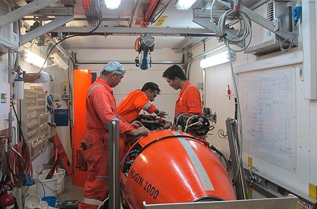 On board with the Fugro Equator as crews prepare surveying equipment for the next stage of the search for MH370