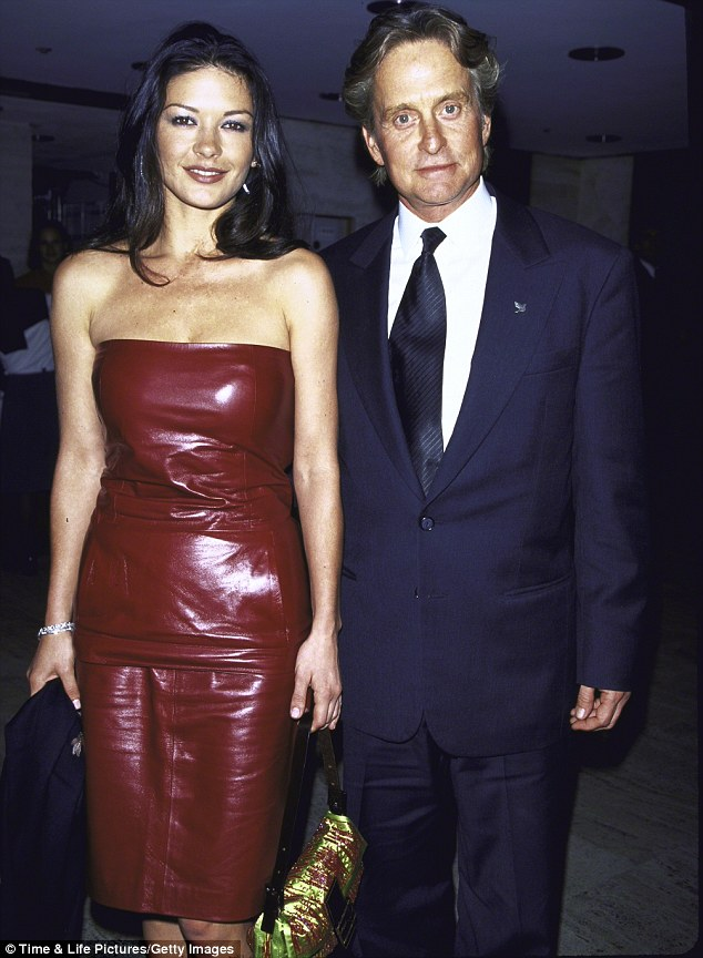 Stronger than ever: Zeta-Jones and Douglas - pictured together in 1999 - were married in 2000 and despite a brief separation, things seem to be going well for the couple