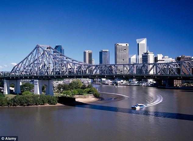 Brisbane city. Fourth highest wages in Australia.