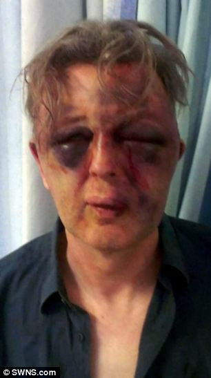 Paul Kohler, pictured, was assaulted at his home in Wimbledon, south west London on Monday