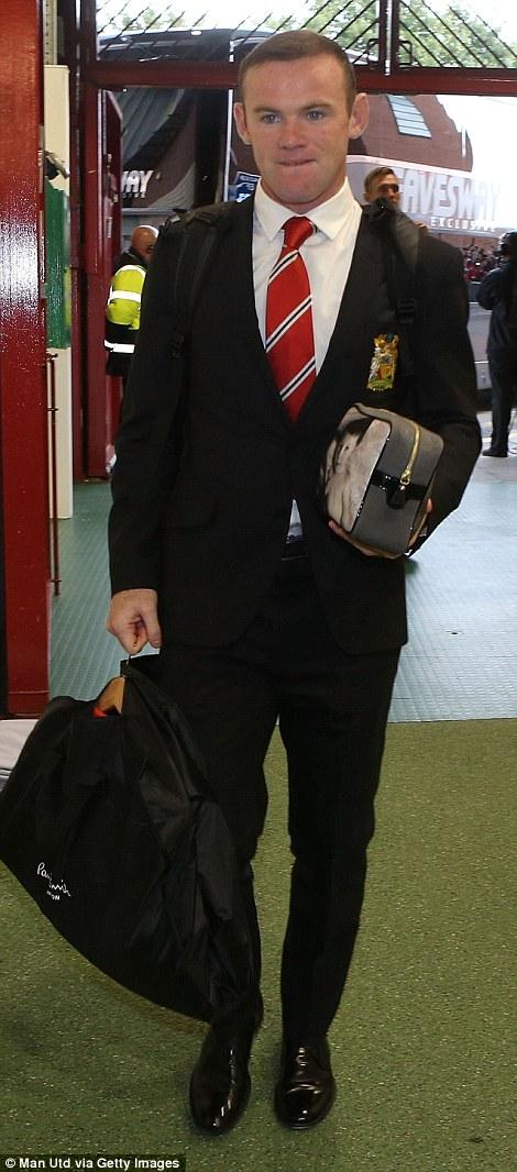 Captain marvel: Wayne Rooney will be the United captain this season