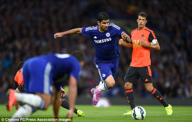 Matured: After numerous loan spells Costa finally matured, which led to his Chelsea transfer