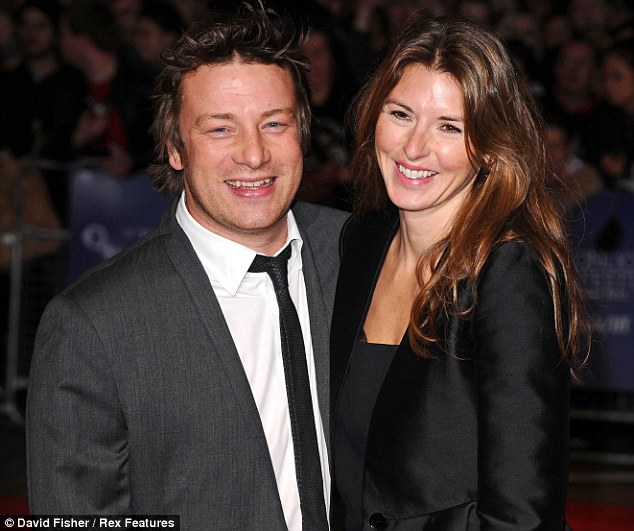 Bonanza: Jools and Jamie Oliver shared £1.2million in dividends last year - up from £500,000