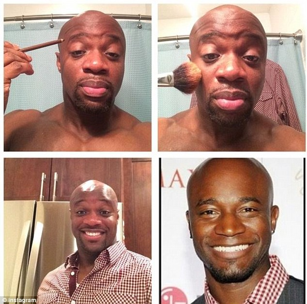 This Twitter user does look somewhat like Private Practice actor Taye Diggs
