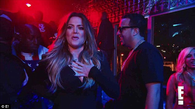 Khloe added: 'I don't know what I would have done if Kim wasn't there to support me. It's really difficult to leave one relationship and go to another one and kind of find your way'