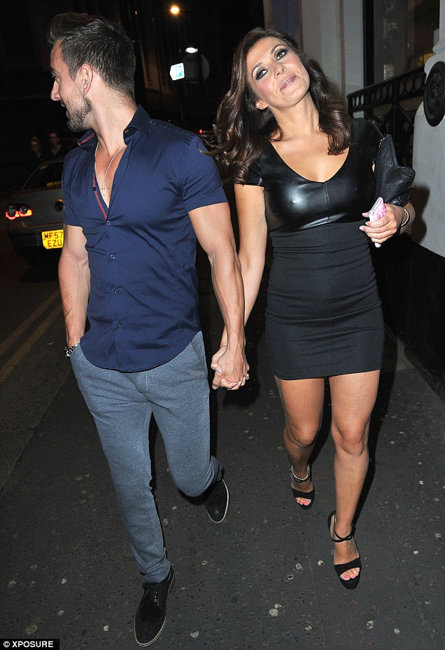 Date night: Kym excitedly tweeted about her night out with her boyfriend earlier in the day