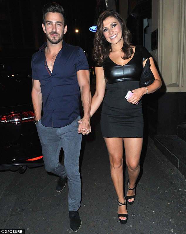 Dinner date:  Kym and Dan Hooper went to San Carlo restaurant in Manchester on Friday evening