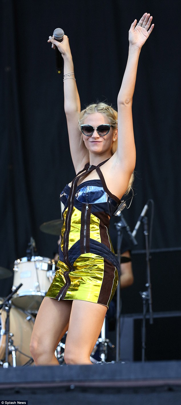 More music: Pixie released her self-titled third album on August one