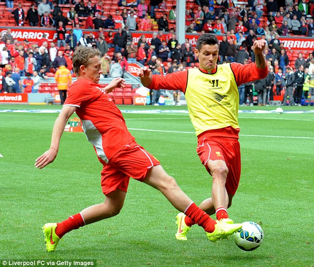 Trophy battle: Lovren is hoping to win major honours with Liverpool during his time at Anfield