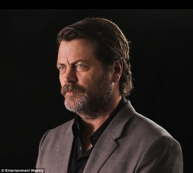 Helpful hint: Nick Offerman suggested 'Don't dabble in narcotics, that's how TV shows get made not watched'