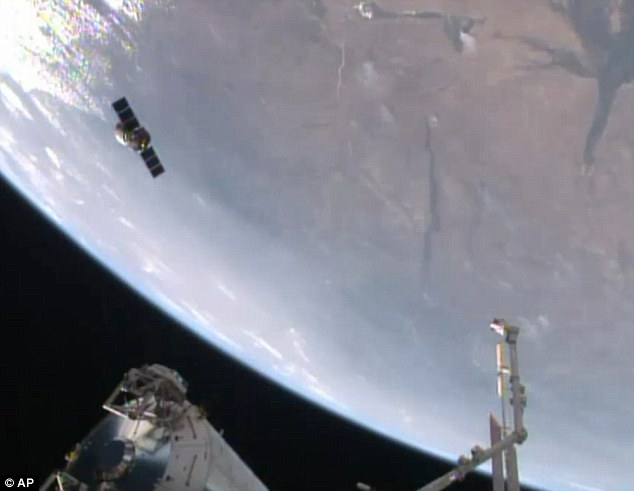 The automated Cygnus spacecraft departed the ISS last Friday having brought more than 3,000 pounds (1,400 kilograms) of crucial cargo to the station last month