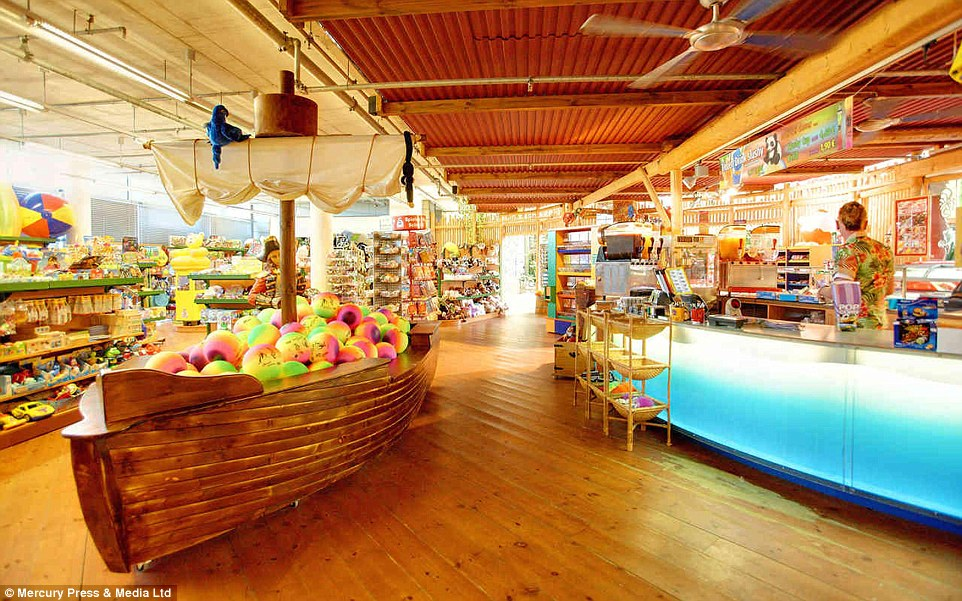 Take a souvenir back with you: Tropical Islands' gift shop is well-stocked with family games and activities