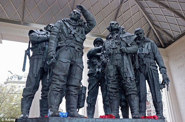The Bomber Command memorial makes the top 10 tourist attractions on TripAdvisor, coming in at fifth place