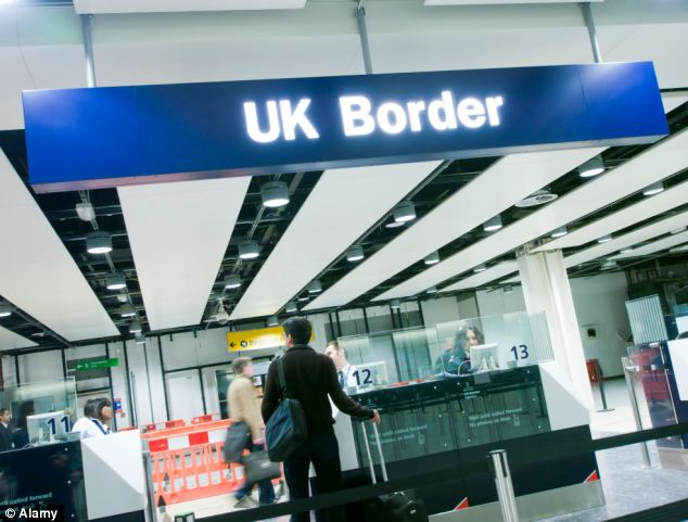 Fiasco: IT failures and management blunders mean 20million passengers coming in or out of Britain escape full screening against terror and criminal watchlists every year