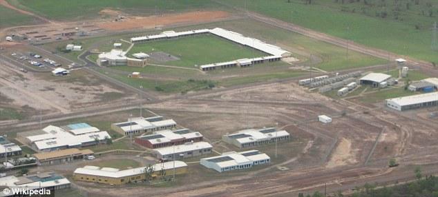 An aerial shot of Berrimah prison where Sarah Dawn Rudd worked as a prison guard.