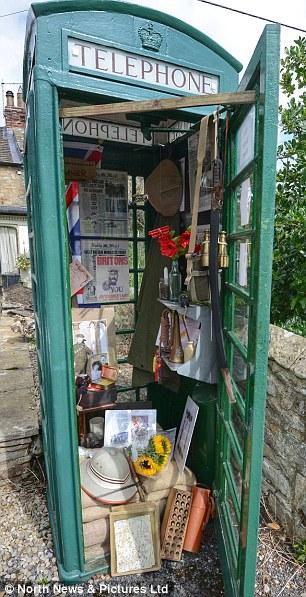 The handiwork of local resident John Hay, 67