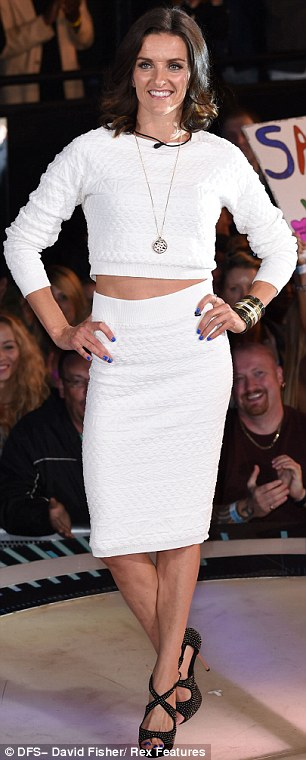 Who wore it best: US reality star Stephanie Pratt and singer Edele Lynch wore white crop tops and skirts