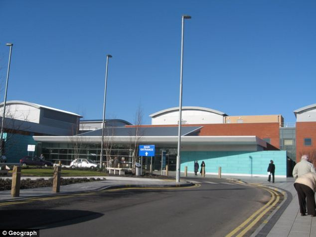 The urology department at Broadgreen Hospital (pictured), part of the Royal Liverpool and Broadgreen University Hospitals NHS Trust, has admitted the error was just one of five botched operations - and two 'never events' - in the last 12 months