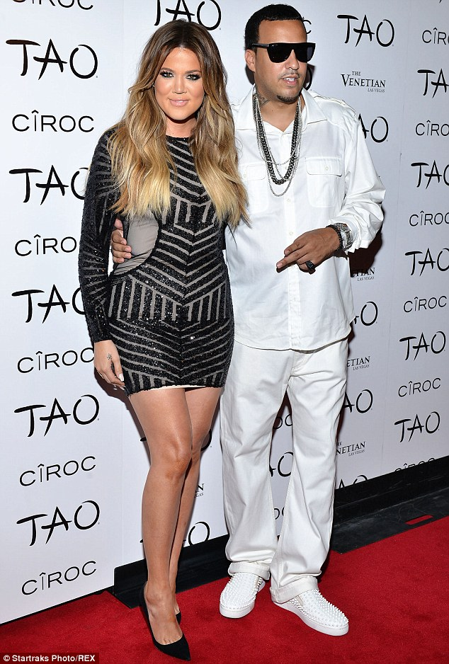 They spend a lot of time together: The E! favorite with Montana at TAO nightclub inside The Venetian in Las Vegas on the Fourth Of July
