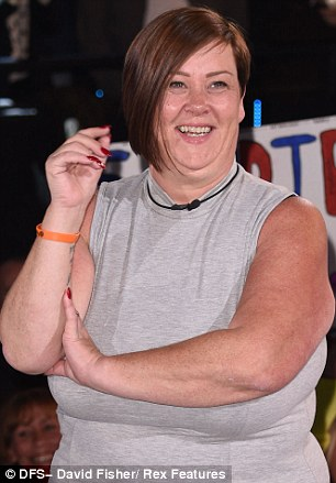 A Royal arrival: White Dee is transformed into a Duchess for the first task of Celebrity Big Brother