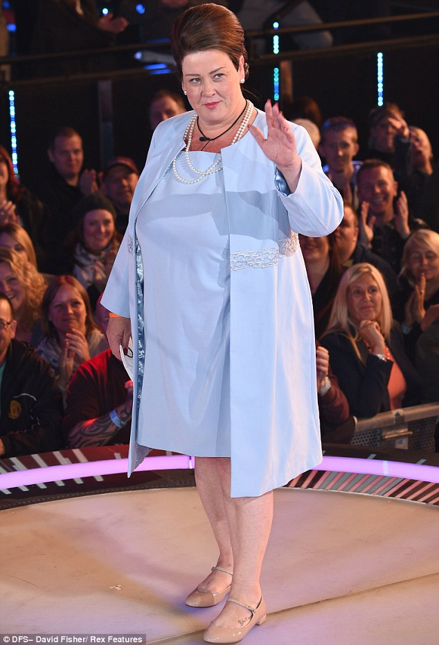 Duchess of Solihull: The reality star was dressed in so Queen-like attire to convince three foreign housemates she was a royal