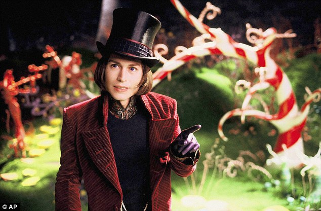 Nickname: Harris is being called Willy Wonka, played here by Johnny Depp, who was the star of Charlie and the Chocolate Factory