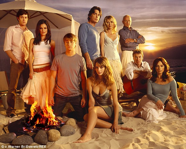 Glory days:Mischa recently revealed that she wasn't as grateful for her involvement in TV hit, The O.C, as she should be