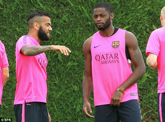 On the move? Barca are looking to offload Song on either a loan or permanent deal this summer