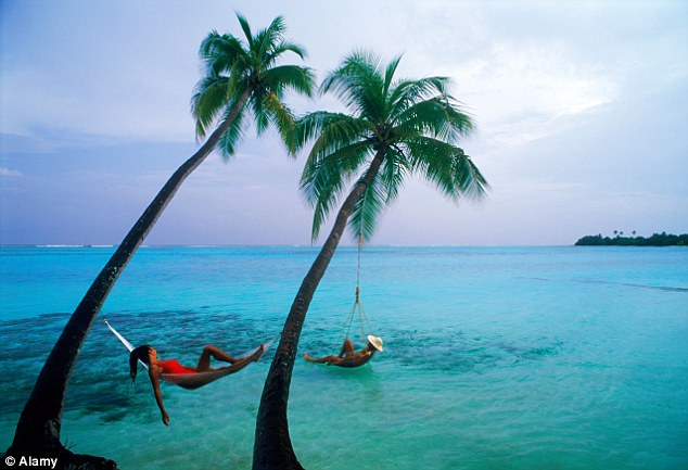 The Maldives comes fourth on the top places Brits would love to visit on holiday