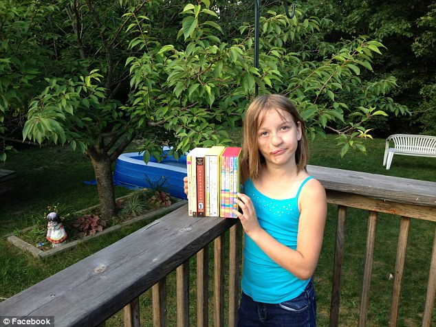 High hopes: Charlotte is excited to go back to swimming, playing soccer and gymnastics