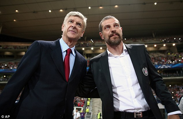Lost his cool: But the Croat says he has apologised to Arsene Wenger and the referee for his actions