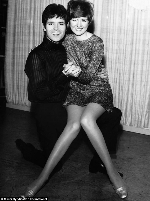 Sir Cliff Richard pictured together with his friend and former Blind Date presenter Cilla Black in 1968