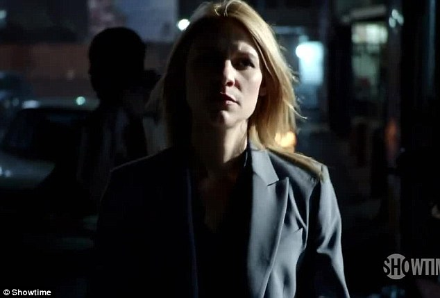 In action: Carrie has taken up the job of station chief for the CIA's Turkey operations in season four