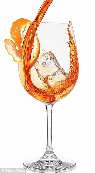 This Italian aperitif, made from Aperol, Prosecco and soda, is the ultimate romantic cocktail