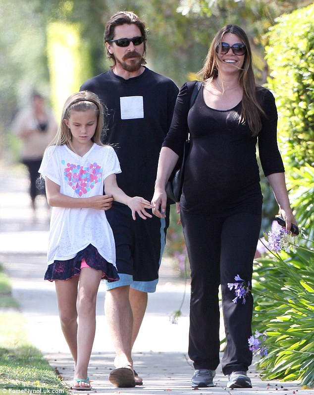 Hollywood success story: The 40-year-old actor and his wife of 14 years are also parents to nine-year-old daughter Emmeline - seen here together on June 24