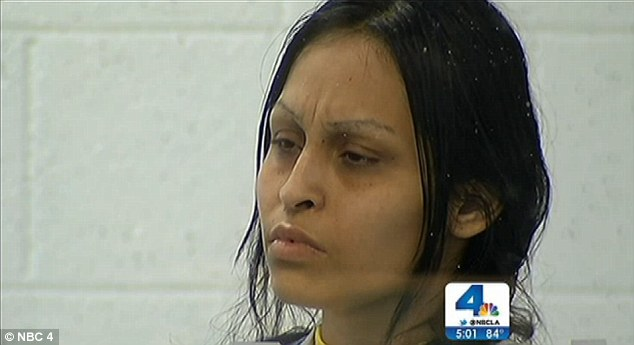Accused: Pearl Fernandez has pleaded not-guilty to murdering and torturing her eight-year-old son Gabriel