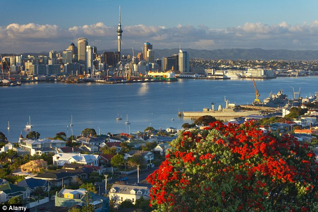 Admire the Auckland skyline: New Zealand is 2nd on the list of dream destinations