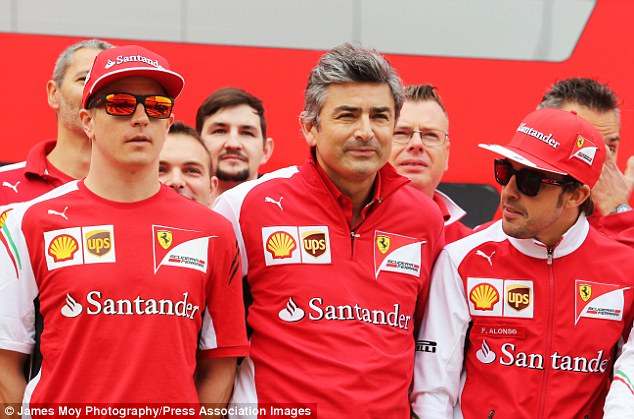 Not working:Kimi Raikkonen (left) has been poor this season, placing a big burden on Fernando Alonso (right)
