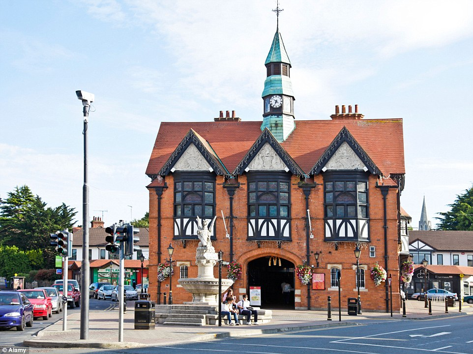 The ground floor of the Bray Town Hall in Northern Ireland has been home to McDonald's since 1997