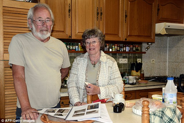 Blocked in: John and Faith Dyson bought the property near Toulouse when they retired in 2004