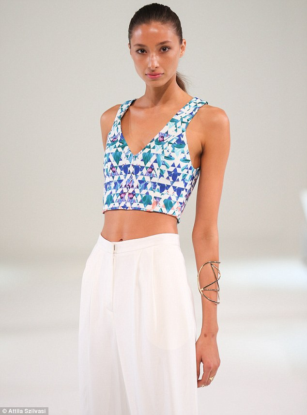 Very summer: Fun prints and bright colours were the order of the day