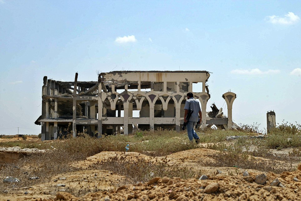 This month the stricken airport was one of the negotiation points in the truce talks that failed in Cairo
