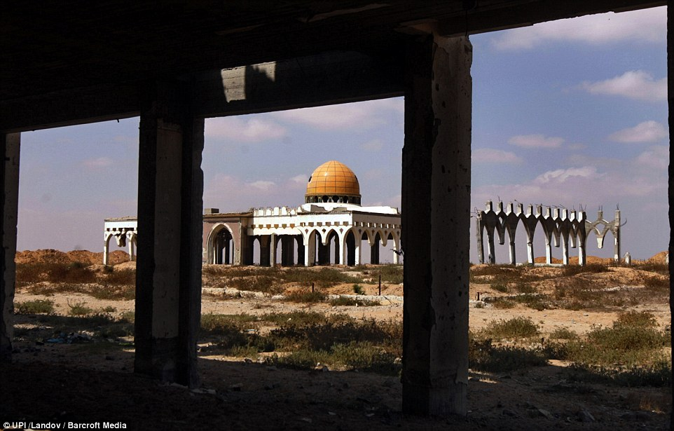 Gaza International Airport has become a desolate space with three empty buildings since Israel bulldozed many of its structures