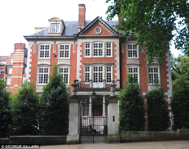 The Prince is said to have offered a mansion for sale in Kensington Palace Gardens, the so-called 'Billionaire's Row' in west London, for £100million last year