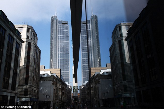 Abdul Aziz Bin Fahd's investments in London include a share in the Heron Tower (pictured) in the City of London