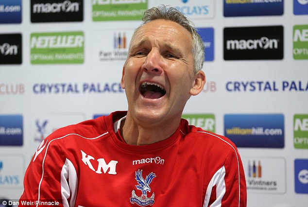 Unfortunate: Millen's Palace side were unlucky not to get a point from their game against Arsenal