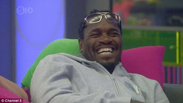 Watching on: The performances left the other housemates in stitches as they watched from the sofa area