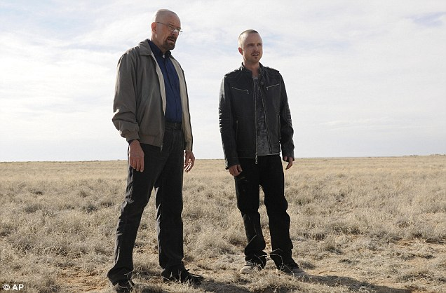 Dynamic duo: The AMC drama will be making its final appearance at this year's Emmy Awards ceremony where both Bryan and Aaron have won awards in the past for their roles on the show